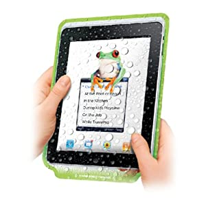 Dual Lillypad Reusable Protective Cover for iPad with Sound Enhancement Chamber PB203GE (3 Pack)