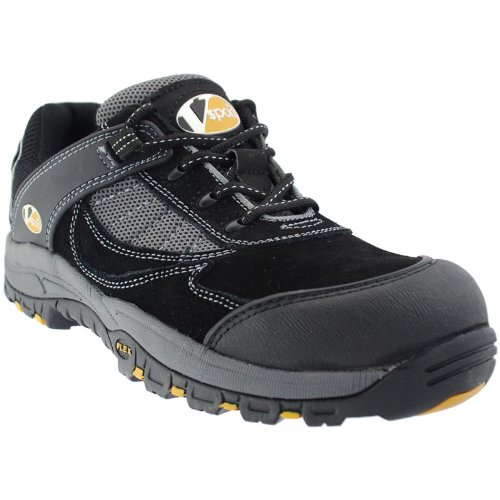 FASTLANE II BLACK/GRAPHITE TRAINER - Sicherheit-Schuhe mit Fiberglas Schutzkappe