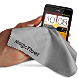 (6 Pack) MagicFiber® Premium Microfiber Cleaning Cloths - For Tablet Cell Phone Laptop LCD TV Screens and Any Other Delicate Surface (5 Black 1 Grey).