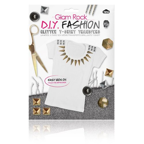 DIY Fashion - Glitter T-shirt Transfers Glam Rock