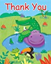 Creative Converting Jungle Buddies Fill-In Thank You Notes