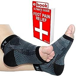 1ST Elite X-Sleeves -Medical Grade Graduated Ankle Brace Compression Socks for Achilles Tendonitis, Plantar Fasciitis & More