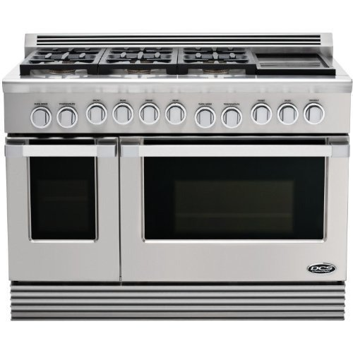 Dcs Rgu-486Gd-L Range 48, 6 Burner, Griddle, Lp Gas