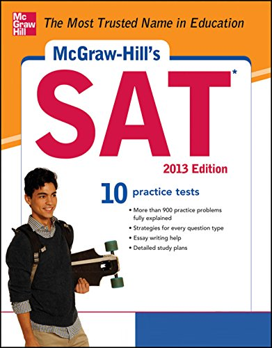 Christopher Black   Mark Anestis - McGraw-Hill's SAT with CD-ROM, 2013 Edition