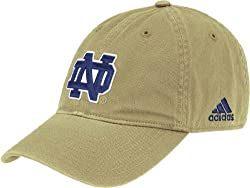 Notre Dame Fighting Irish Gold Adjustable Slouch Hat