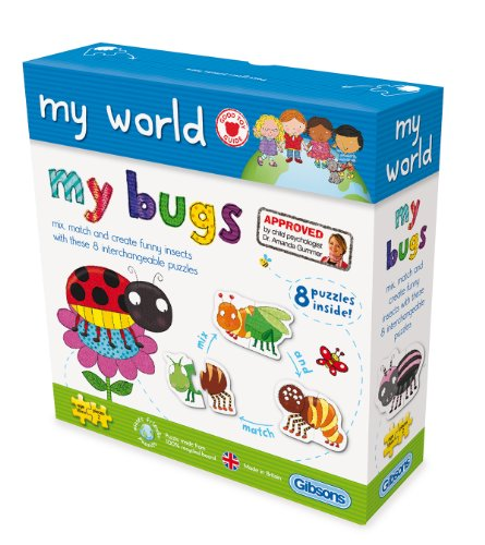 Gibsons-My-World-My-Bugs-Jigsaw-Puzzle-2-And-3-Pieces