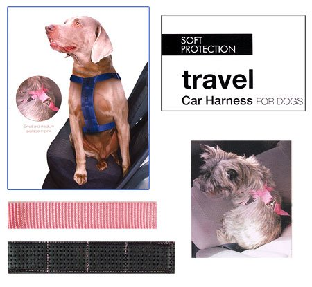 Artikelbild: Rosewood 02465 Soft Protection Hunde-Sicherheitsgurt, pink, Medium