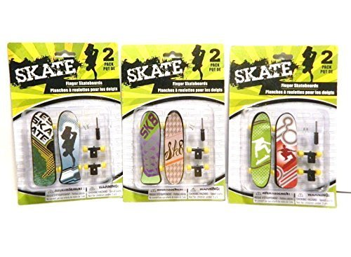 3 Packs - Finger Skateboards 2 Packs - 1