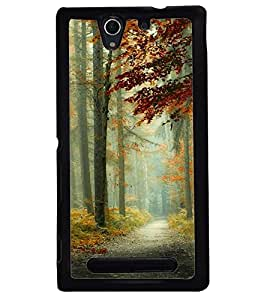 Printvisa Natures Beauty Back Case Cover for Sony Xperia C3 Dual D2502::Sony Xperia C3 D2533