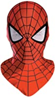 Disguise Men's Marvel Spider-Man Deluxe Mask Costume Accessory