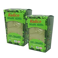 Radico Organic Henna Powder - 150g (2 Unit)