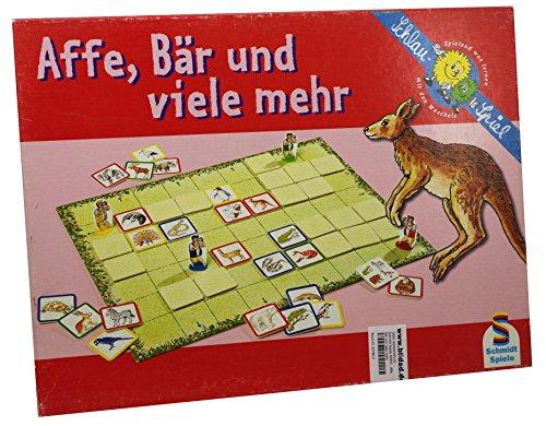 Schmidt Spiele 40652 - Affe, Bär und viele mehr