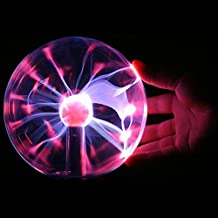 Generic Newest 2016 Magic USB Glass Plasma Ball Sphere Lightning Crystal And holiday Lamp Light Party Black Base USB Lighting Wholesale available at Amazon for Rs.1848