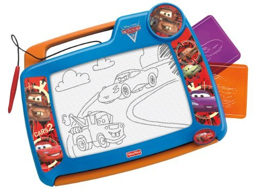 Classic Doodle Pro Drawing Fun, Featuring Favorite Cars 2 Friends! - Fisher Price Disney/Pixar Cars 2 Doodle Pro