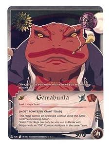 Curse of the Sand N-128 Gamabunta - Naruto CCG