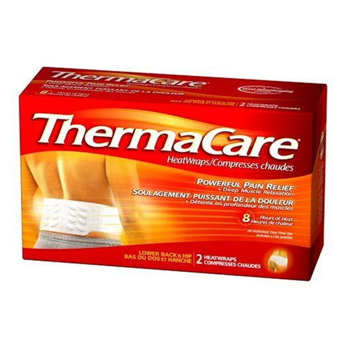 New ThermaCare Lower Back & Hip Heat Wraps, Large-XL,  2-Count Boxes (Pack of 3)