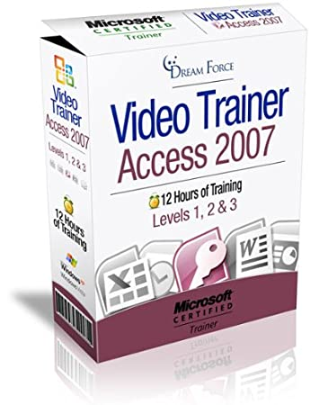 Access 2007 Training Videos - 12 Hours of Access 2007 training by Microsoft Office Specialist Master Instructor: 2000, XP (2002), 2003, 2007 and Microsoft Certified Trainer (MCT), Kirt Kershaw