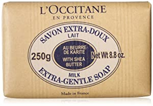 L'Occitane Shea Butter Extra-Gentle Milk Soap, 250g