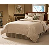14 pc California King Size Bedding Bed in a Bag Set - Southern Textiles Allentown Ultra Super Pack