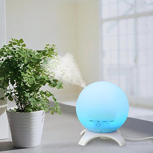 Stronker 350ml Globe Essential Oil Diffuser Portable Aromatherapy 15 Color Led Lights Ultrasonic