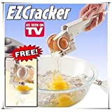 Ezcracker Crack, Drinking And Arm Separate Eggs Perfectly. Bye Chips Shell Handmade Egg Cracker