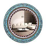 Venetian Design Round Mosaic Mirror