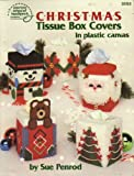 img - for Plastic Canvas Christmas Tissue Box Covers in Plastic Canvas (3053) (3053) book / textbook / text book