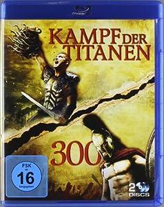 Kampf der Titanen & 300 (2 Discs) [Blu-ray]