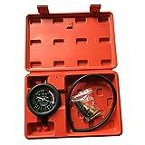 Fuel Pump & Vacuum Tester Gauge Kit Leak Carburetor Valve Pressure Diagnostics Test Tool Set for Car Truck With Case