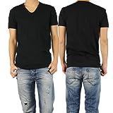 (ポールスミス)PAUL SMITH アンダーウェア メンズVネックTシャツ 2382 U221 ブラック [並行輸入商品]