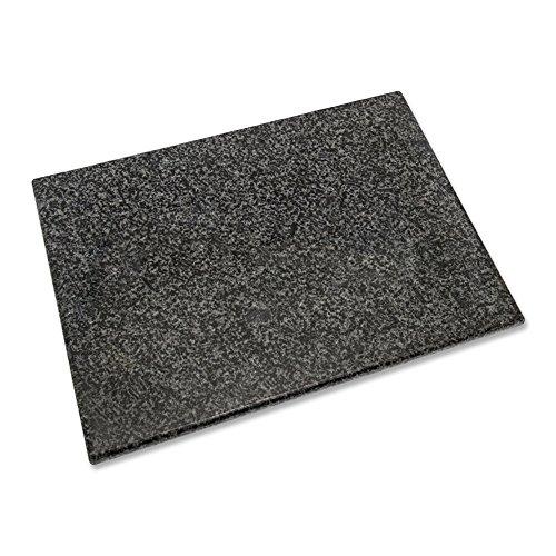 Granit Schneidebrett 40 x 30 x 1,5 cm Küchenbrett Tranchierbrett Schneidunterlage
