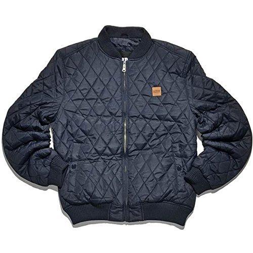 Urban Classics Diamond Quilt Nylon Jacket navy- M