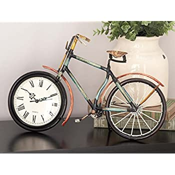 "Deco 79 39085 Metal Clock, 16""x9"""