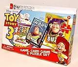 3 In 1 Fun Set Toy Story 3 Bingo Game, Card Game & Puzzle Set