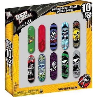 tech-deck-13816-packung-mit-10-finger-skateboards-aeur-sortiment