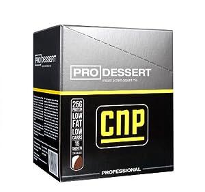 CNP Pro Dessert Instant Vanilla Flavoured High Quality Protein Pudding Powder 15 Sachets