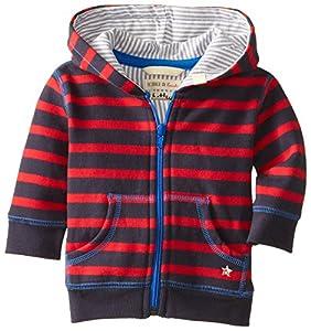 Hatley Infant Hoodies-Cinders Stripes - Chaqueta para bebés