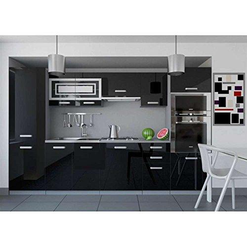 k che in schwarz gestalten 4 moderne designs. Black Bedroom Furniture Sets. Home Design Ideas
