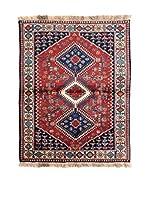 Navaei & Co. Alfombra Persian Yalameh Rojo/Multicolor 152 x 100 cm
