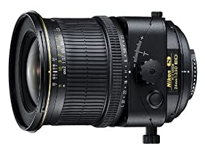 Nikon 24mm f/3.5D ED PC-E Nikkor Ultra-Wide Angle Lens for Nikon DSLR Cameras