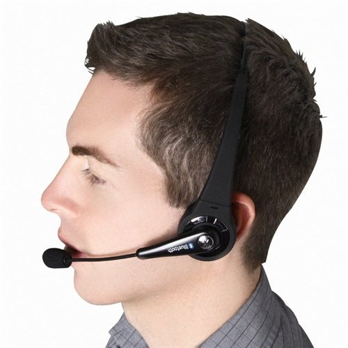 Agptek Perfect Sound Quality Headset With Wireless Bluetooth For Sony Playstation 3 / Playstation 3 Slim