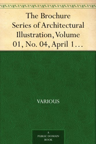 The Brochure Series of Architectural Illustration, Volume 01, No. 04, April 1895 Byzantine-Romanesque Windows in Southern Italy PDF