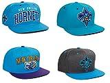 Adidas NBA Charlotte Hornets Flat Bill Visor Snapback Cap Hat Adjustbale Snap Back