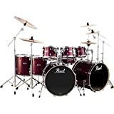 Pearl Export Double Bass 8-Piece Drum Set Wine Red (Wine Red)