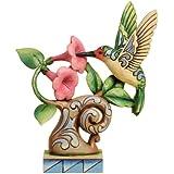 Enesco Jim Shore Heartwood Creek Hummingbird Figurine, 6.25-Inch