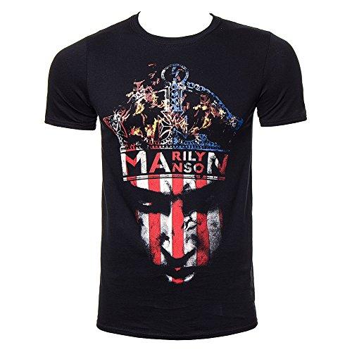 Jiggy Marilyn Manson - Crown T-Shirt Size S