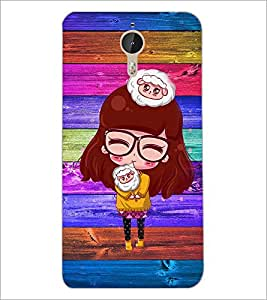 PrintDhaba Specy Girl D-4662 Back Case Cover for LETV LE 1 PRO ULTRA (Multi-Coloured)