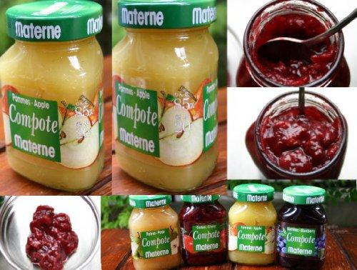 フルーツ果肉たっぷりのベルギー産マテルネコンポート りんごコンポート