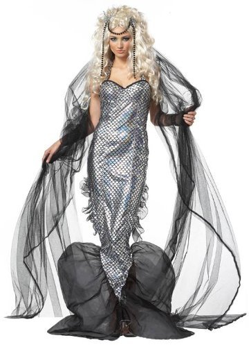 Womens Mystic Mermaid Adult Halloween Costume
