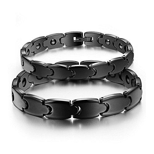 starista-noir-bracelet-cssramique-magnsstique-wristband-thssrapie-pour-hommes-et-femmes